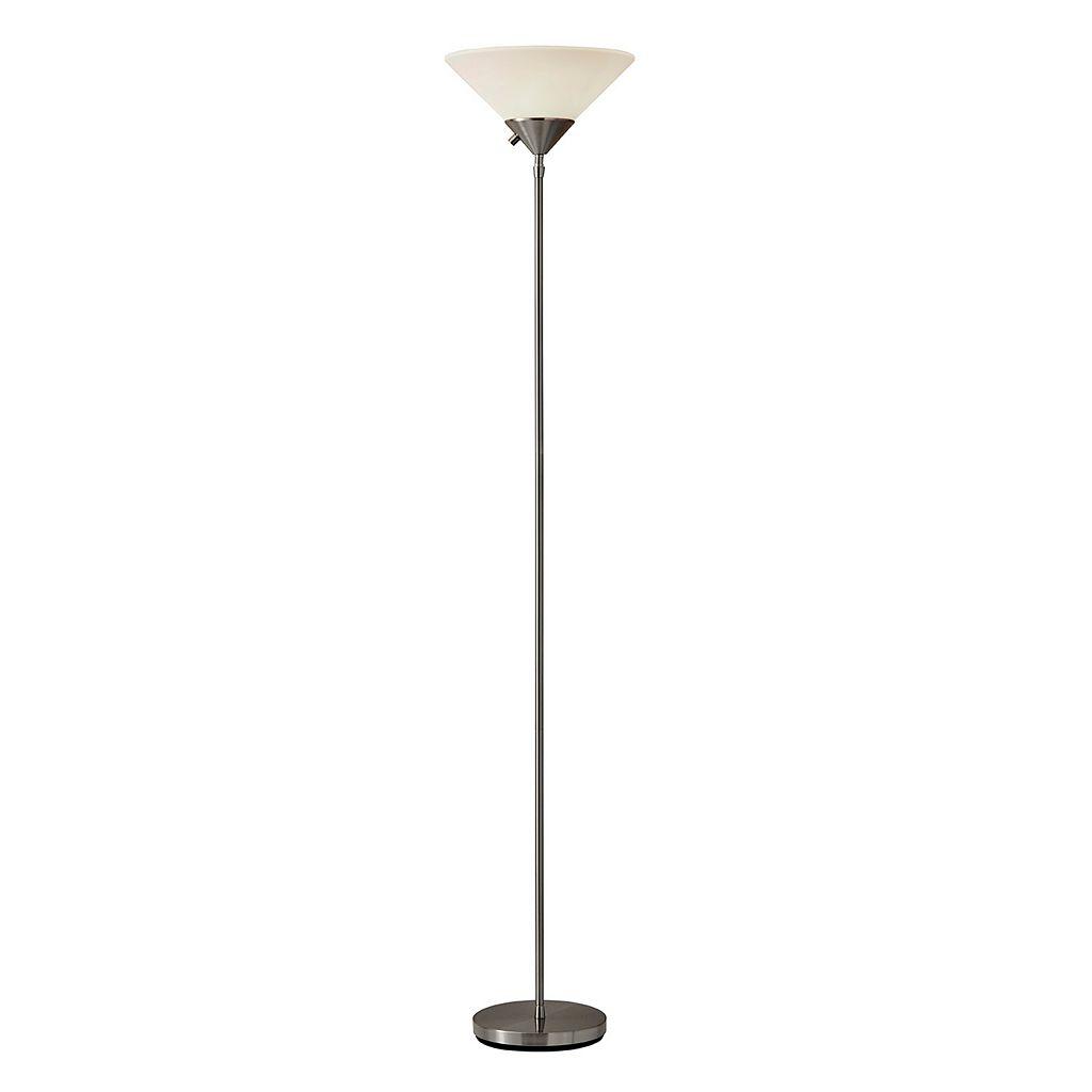 Adesso® Pisces Torchiere Floor Lamp