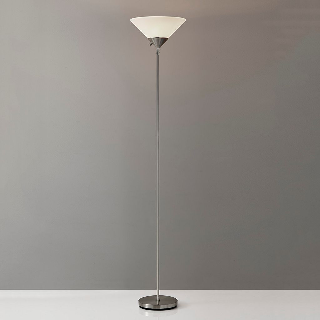 Adesso Pisces Torchiere Floor Lamp
