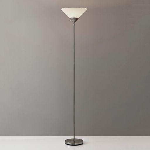 Adesso Pisces Torchiere Floor Lamp