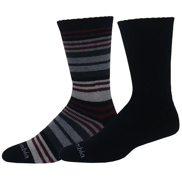 Men's Columbia 2-pack Wool-Blend Crew Socks