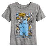 Baby Boy Jumping Beans® Sesame Street Cookie Monster Heathered Tee