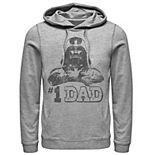 Men's Star Wars Darth Vader #1 Dad Vintage Father's Day Hoodie