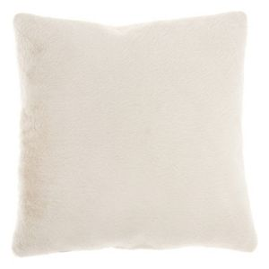 Mina Victory Faux Fur 2-sided Throw Pillow