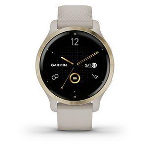 Garmin Venu 2S Light Gold Bezel with Light Sand Case & Silicone Band Smartwatch Smartwatch
