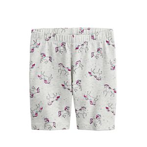 Girls 4-12 Jumping Beans® Patterned Bike Shorts