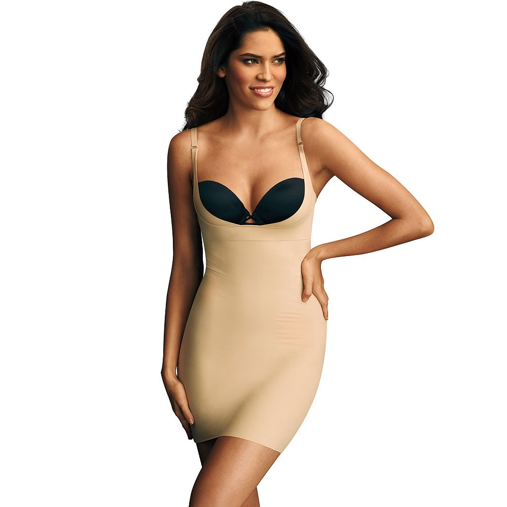 53eac254dd Maidenform Shapewear Wear Your Own Bra Firm Control Full Slip 2541 - Women s