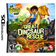 Nintendo DS Go, Diego, Go!: Great Dinosaur Rescue