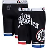 Youth Ethika Black LA Clippers City Edition Boxer Briefs