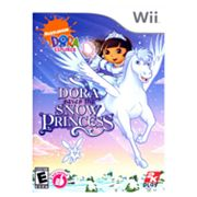 Nintendo Wii Dora the Explorer: Dora Saves the Snow Princess