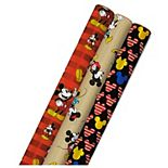 Hallmark Disney's Mickey Mouse Wrapping Paper 3-Pack
