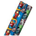 Hallmark Marvel's Avengers Wrapping Paper 3-Pack