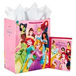 Hallmark Large Disney Princess Gift Bag with Birthday Card & Tissue Paper