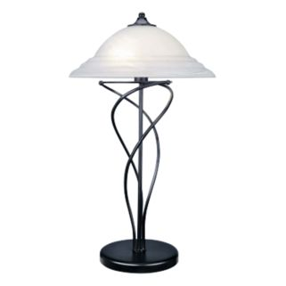 Majesty Black Table Lamp