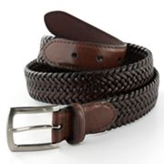 Dockers Braided Leather Belt
