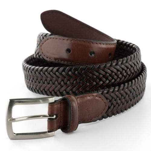 Dockers® Braided Leather Belt