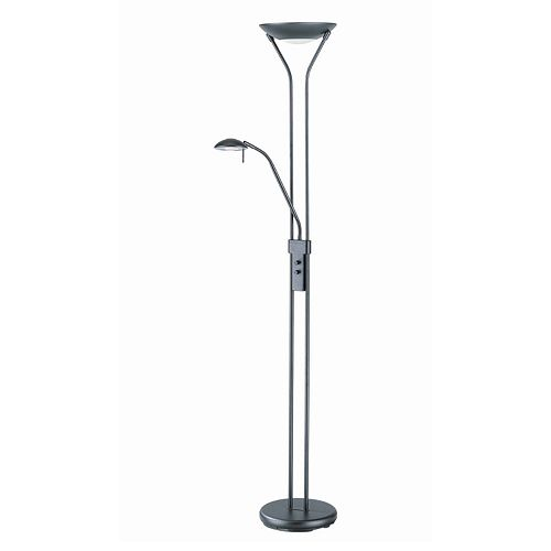 Duality Torchiere Reading Floor Lamp