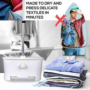 SereneLife SLIRX45 Inflatable Steam and Ironing Clothes Garment Steamer Machine