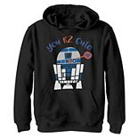 Boys 8-20 Star Wars R2-D2 Too Cute Valentine's Day s Graphic Fleece Hoodie