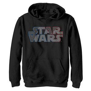 Boys 8-20 Star Wars Geometric Ombre Classic Logo Graphic Fleece Hoodie