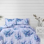 Azores Home Jolie Printed Oversized Duvet Set with Shams