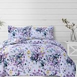 Azores Home Juliette Printed Oversized Duvet Set with Shams