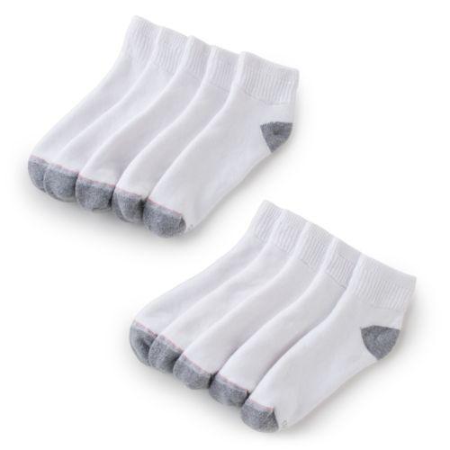 Hanes 10-pk. Quarter Socks