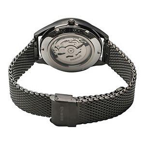 BERING Men's Automatic Titanium Mesh Strap Watch - 16743-377