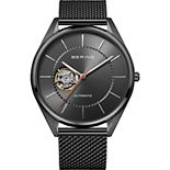 BERING Men's Automatic Titanium Mesh Strap Watch - 16743-377