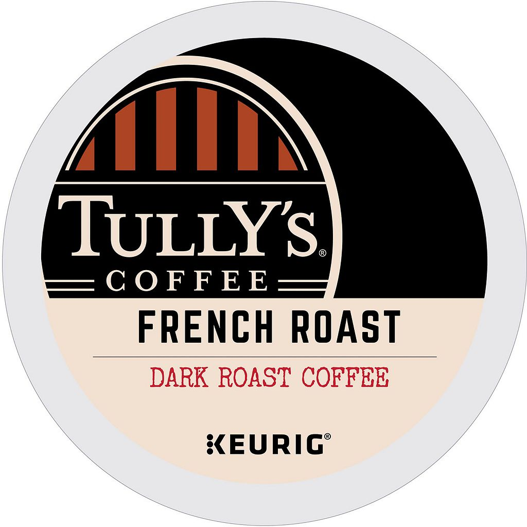 Keurig® K-Cup® Pod Tully's French Dark Roast Coffee - 18-pk.
