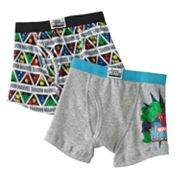 Marvel Heroes 2-pk. Boxer Briefs - Boys 4-8