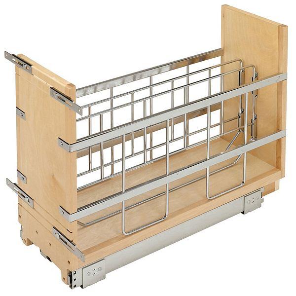 Rev A Shelf 447 Bcbbsc 8c 8 Inch Pull, 8 Inch Kitchen Cabinet