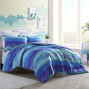 Joe Boxer Paint Sky Comforter Set with Sham