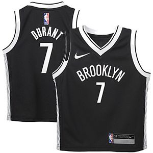 Toddler Nike Kevin Durant Black Brooklyn Nets 2020/21 Replica Jersey - Icon Edition
