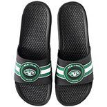 Men's FOCO New York Jets Logo Slide Sandals
