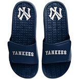 Men's FOCO New York Yankees Retro Gel Slide Sandals