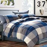 Serenta Buffalo Washed Cotton Comforter Set with Shams