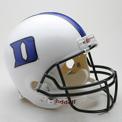 Riddell Duke Blue Devils Collectible Replica Helmet
