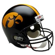 Riddell Iowa Hawkeyes Collectible Replica Helmet