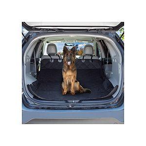 Petmaker 80-PET6044 Cargo Liner Dog Waterproof Seat Cover with Non-Slip Trunk Pet Travel Mat, Black