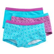 Hanes 3-pk. Patterned Boyshorts