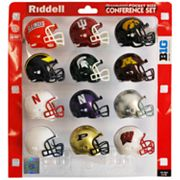 Riddell Big Ten Conference Pocket-Size Helmet Set