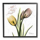 Stupell Home Decor Family Faith Friends Tulip Framed Wall Art