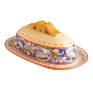 Pfaltzgraff Villa Della Luna Covered Butter Dish