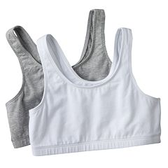 Girls 7-16 SO® 2 pkSports Bras