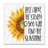 Stupell Home Decor Find Sunshine Sunflower Plaque Wall Art