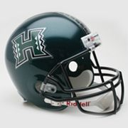 Riddell Hawaii Warriors Collectible Replica Helmet