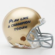 Riddell Notre Dame Fighting Irish Play Like A Champion Today Mini Helmet