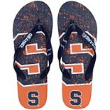 FOCO Orange Syracuse Orange Big Logo Flip Flop Sandals