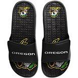 Men's FOCO Oregon Ducks Wordmark Gel Slide Sandals