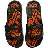 Men's FOCO Oklahoma State Cowboys Wordmark Gel Slide Sandals